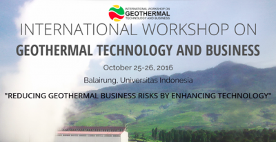 Geothermal Technology and Business