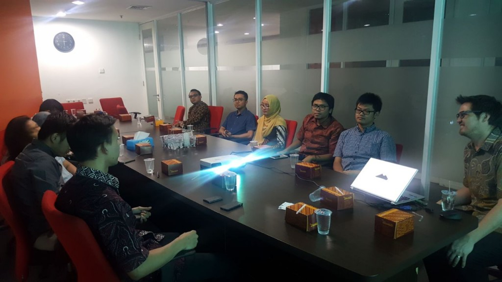 Sharing Session Ahli Panas Bumi dari New Zealand